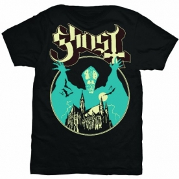 Ghost Opus Mens T Shirt: X Large