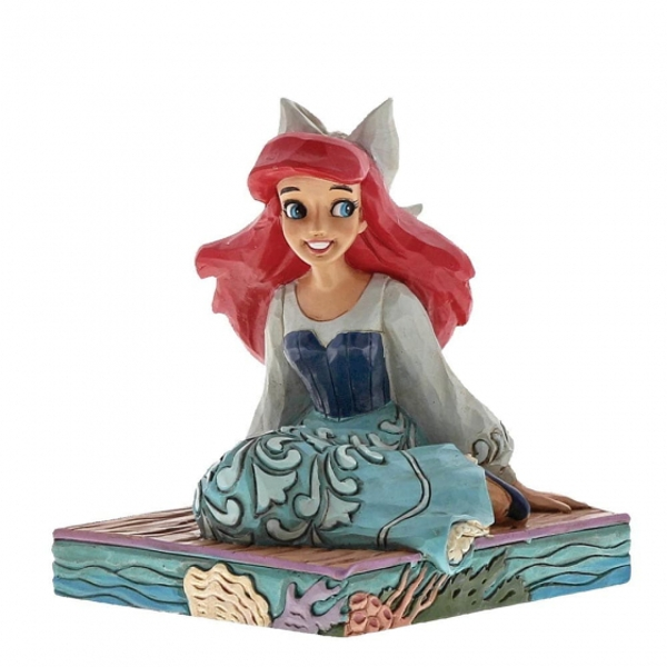 Be Bold Ariel (Little Mermaid) Disney Traditions Figurine