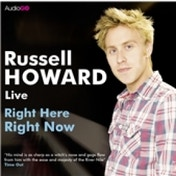 Russell Howard Right Here Right Now Audio Book CD