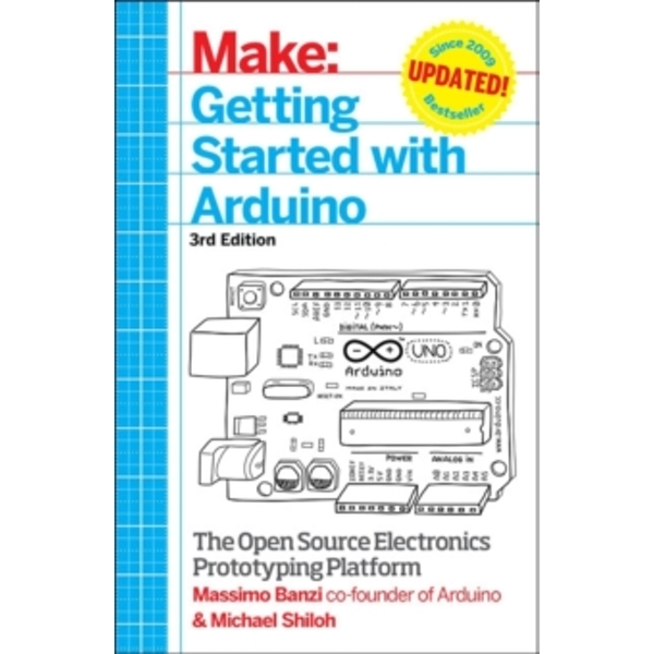 Getting Started with Arduino: The Open Source Electronics Prototyping Platform by Massimo Banzi, Michael Shiloh (Paperback, 2015)