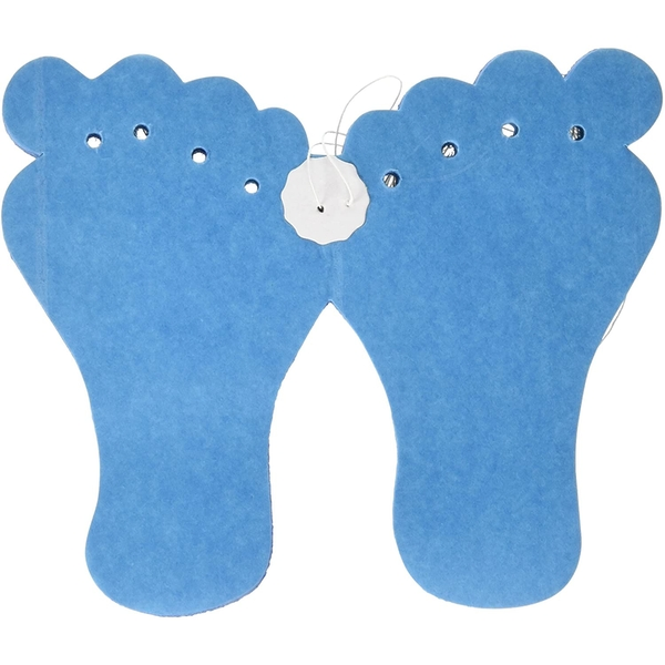 Baby Boy Blue Feet Decorations