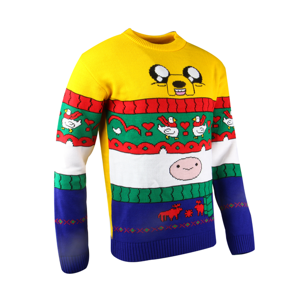 Adventure Time - Finn & Jake Unisex Christmas Jumper Medium