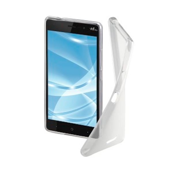"Hama ""Crystal"" Cover for Wiko Lenny 4, transparent"