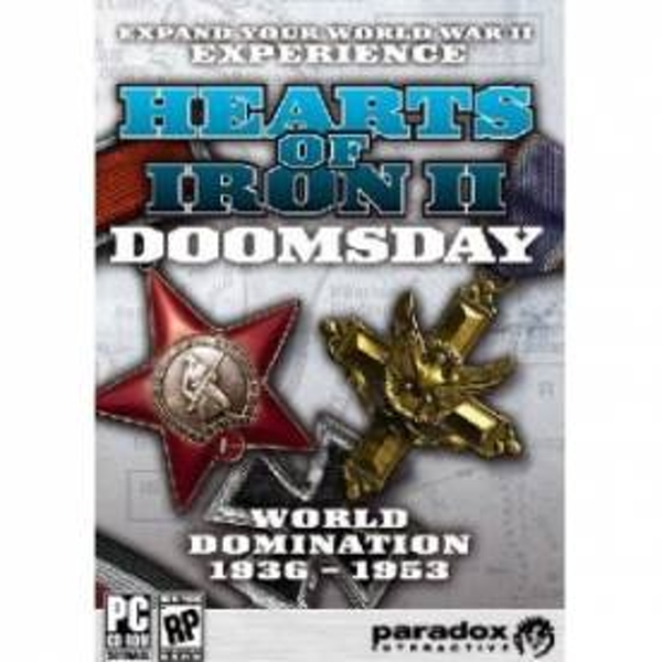 Hearts of Iron 2 Doomsday Game PC