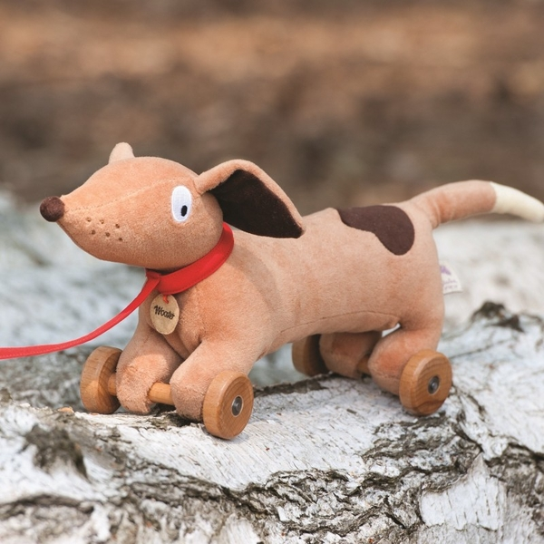 Ragtales Wooster Pull Along Dog