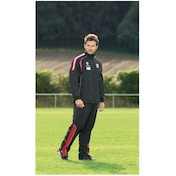 PT Ultimate Tracksuit Trousers Black/Red/Silver 22-24