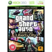 Ex-Display Grand Theft Auto GTA Episodes From Liberty City Game Xbox 360 Used - Like New