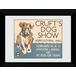 Transport For London Crufts 50 x 70 Framed Collector Print - Image 2