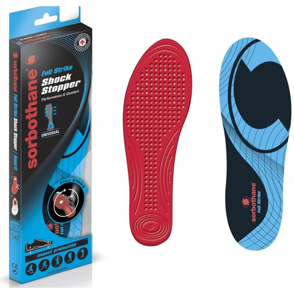 Sorbothane Full Strike Insoles UK Size 7