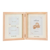 Sass & Belle Woodland Baby Scan Multi Photo Frame