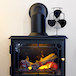 Heat Powered 3 Blade Stove Fan | M&W - Image 2