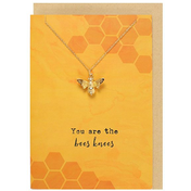 You Are The Bees Knees Necklace And Card Set  Pack Of 15