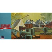 Hasegawa 1:72 Field Camp Equipment Set