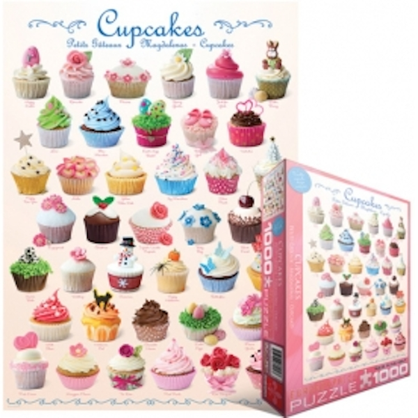 Eurographics Puzzle 1000 Pc - Cupcakes