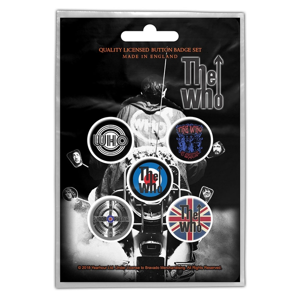 The Who - Quadrophenia Button Badge Pack