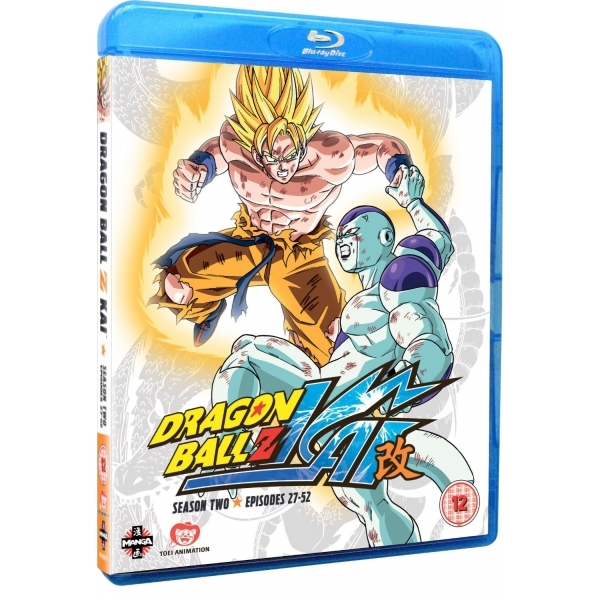 Dragon Ball Z KAI Season 2 Episodes 27-52 Blu-ray