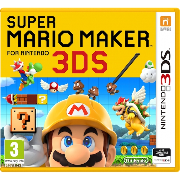 Super Mario Maker 3DS Game