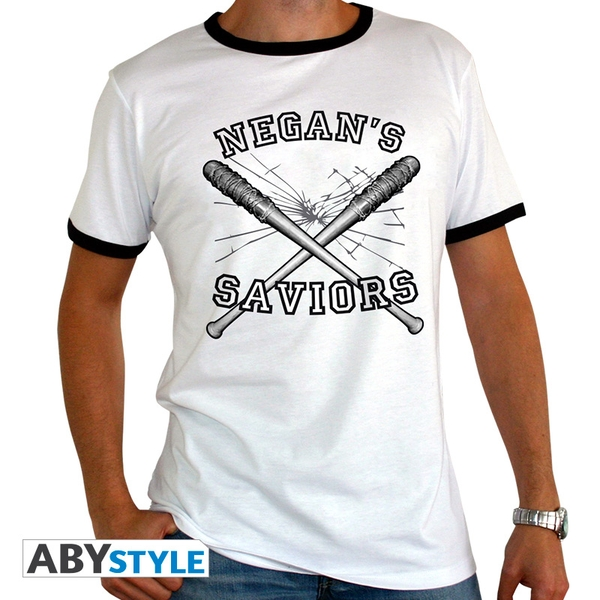 The Walking Dead - Negan's Saviors Men's XX-Large T-Shirt - White