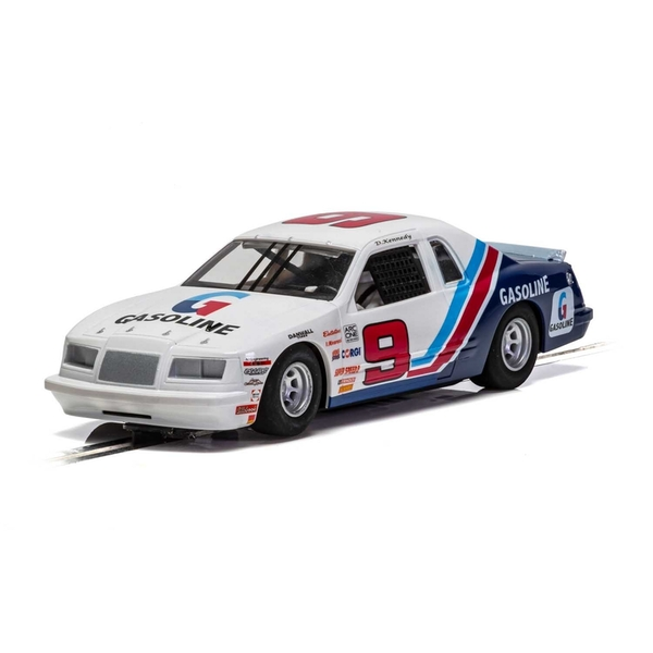 Ford Thunderbird Blue & White & Red 1:32 Scalextric Super Resistant Car