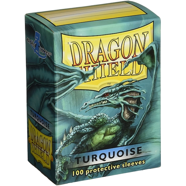 Dragon Shield Standard Turquoise Card Sleeves - 100 Sleeves