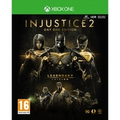 Damaged Injustice 2 Legendary Day One Edition Xbox One Game (Inc Steelbook) Used - Like New