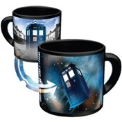 Doctor Who Disappearing Tardis Coffee Mug