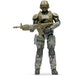 UNSC Marine With Commando Rifle (World Of Halo) Action Figure - Image 2