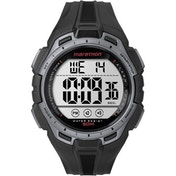 Timex TW5K94600 Mens Marathon Watch with Resin Strap Black/Silver