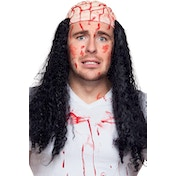 Bloody Brain Wigs Horror with Hair
