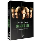 Star Trek Captains Log Fan Collective DVD
