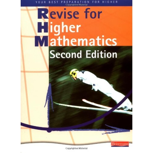 Heinemann Higher Mathematics Revision Book - by Pearson Education Limited (Paperback, 2008)