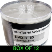 DVD-R 8X 600PK (12 x 50) Boxed Printable