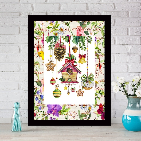 SCZ349467299 Multicolor Decorative Framed MDF Painting