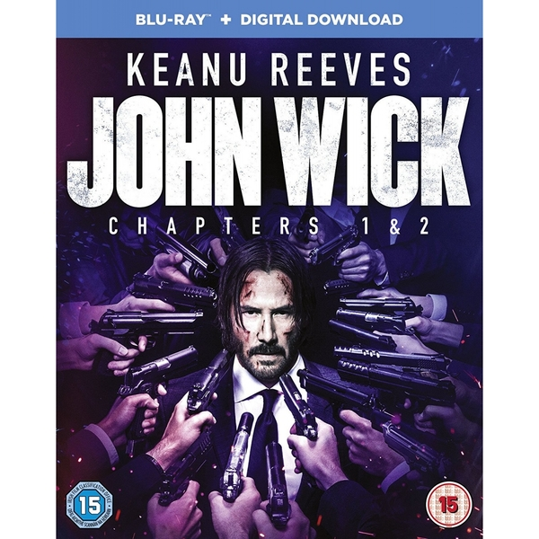 John Wick: Chapters 1 & 2 Blu-ray   Digital Download