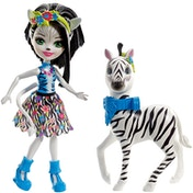 Enchantimals Zelena Zebra Doll