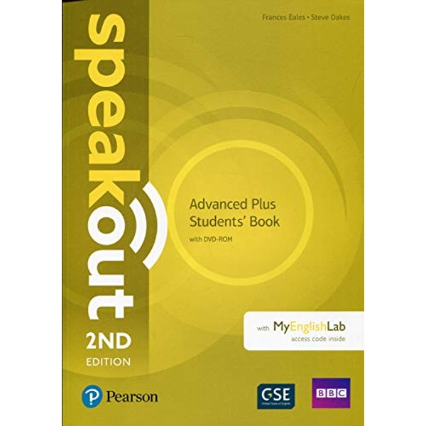 Speakout Advanced Plus 2nd Edition Students' Book with DVD-ROM and MyEnglishLab Pack  Mixed media product 2018