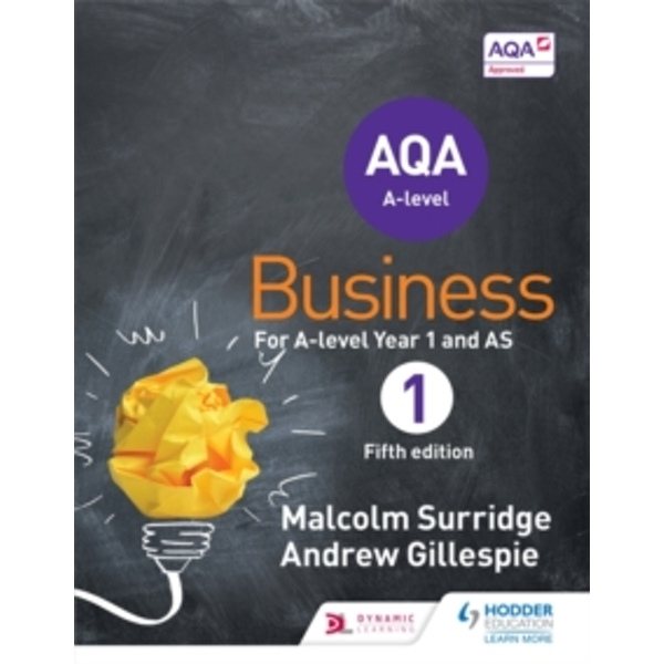 AQA Business for A Level 1 (Surridge & Gillespie) by Andrew Gillespie, Malcolm Surridge (Paperback, 2015)