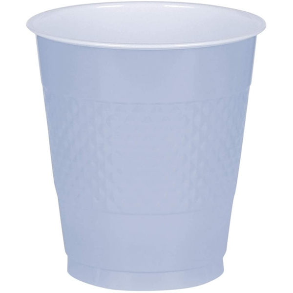 Amscan Plastic Cups 355ml  Pastel Blue(10 Pieces)
