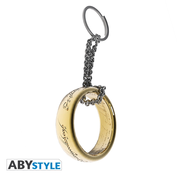 Lord Of The Rings - Ring 3D Keychain
