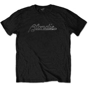 Blondie - Logo Men's Large T-Shirt - Black