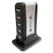 Dynamode USB-H70-1A2.0 External 7-Port USB 2.0 Hub Mains Powered UK Plug