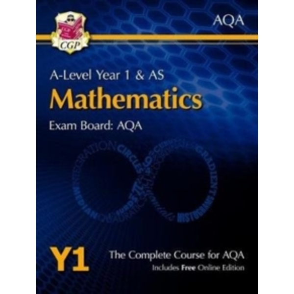 New A-Level Maths for AQA: Year 1 & AS Student Book with Online Edition