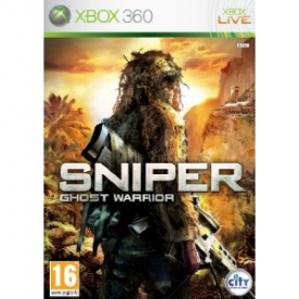 Sniper Ghost Warrior Game Xbox 360