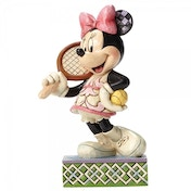 Tennis, Anyone? Minnie Mouse Disney Traditions Figurine