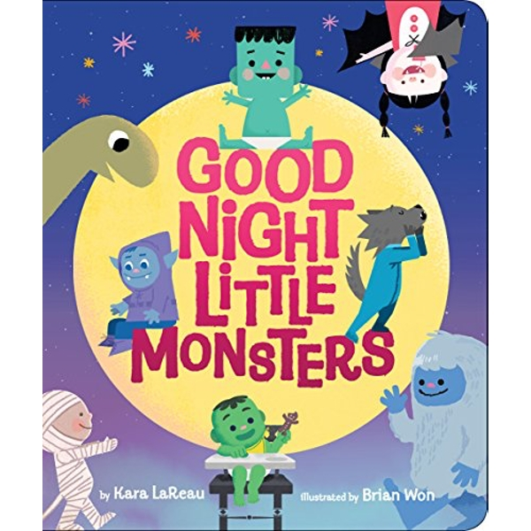 Good Night, Little Monsters  Novelty book 2018