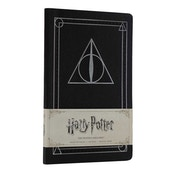 The Deathly Hallows (Harry Potter) Ruled Notebook