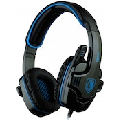 Sades  SA-708 G Power Blue PC Stereo Gaming Headset