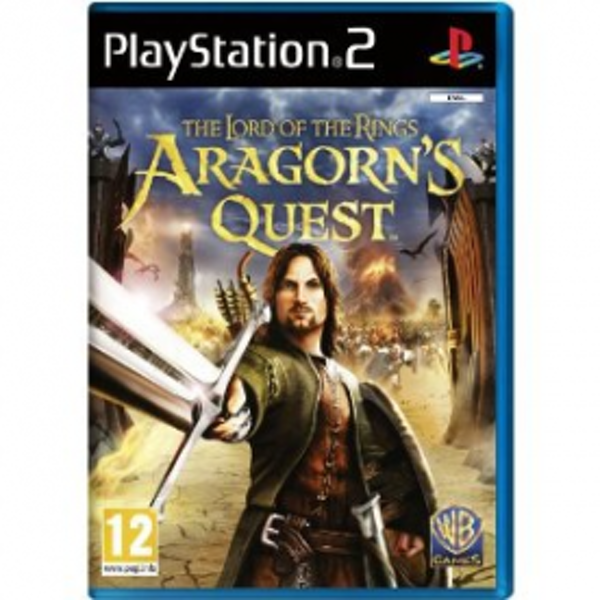 The Lord Of The Rings Aragorns Quest Game PS2