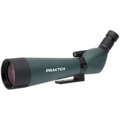 PRAKTICA Highlander Angled Spotting Scope 20-60x60mm FMC BAK4 Green inc Tripod