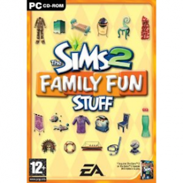 The Sims 2 Family Fun Stuff Game PC